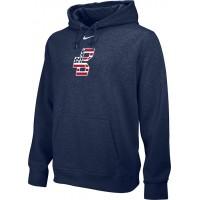 Bat Company 30: Adult-Size - Nike Team Club Fleece Training Hoodie (Unisex) - Navy Blue