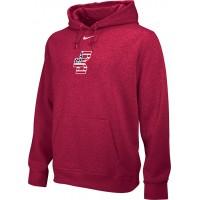 Bat Company 32: Adult-Size - Nike Team Club Fleece Training Hoodie (Unisex) - Scarlet Red