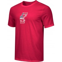 Bat Company 24: Adult-Size - Nike Combed Cotton Core Crew T-Shirt - Scarlet Red