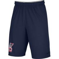 Bat Company 42: Adult-Size - Nike Team Fly Athletic Shorts - Navy Blue