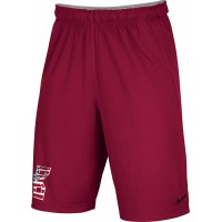 Bat Company 44: Adult-Size - Nike Team Fly Athletic Shorts - Scarlet Red