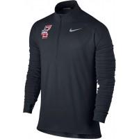 Bat Company 36: Nike Element Men's Long Sleeve Running Top - Black